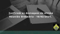 3ª REUNIÃO ORDINÁRIA