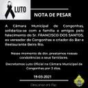 Nota de Pesar - Francisco dos Santos