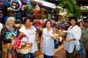 Quitandeiras começam a divulgar Festival em diversas cidades