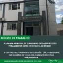 RECESSO DE TRABALHO